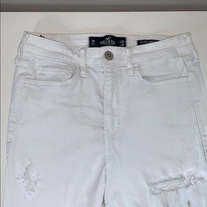 Hollister jeans size 3 high rise Regular length